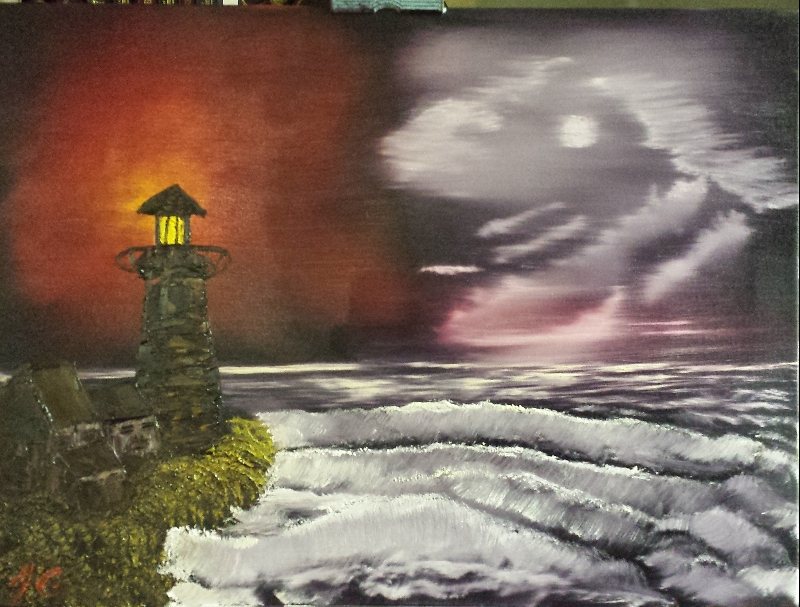 Night Light - The Joy of Painting S3E8