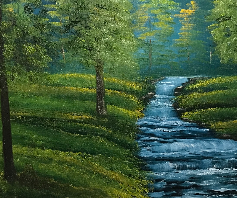 Bubbling Brook The Joy Of Painting S5e7