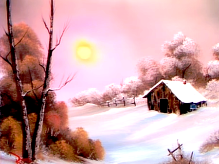 Een Warme Winter : Warm winter day the joy of painting s e