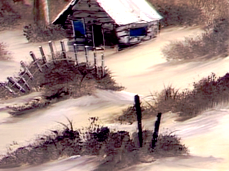 Winter Cabin The Joy Of Painting S7E1