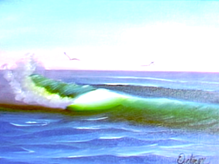 Anatomy Of A Wave The Joy Of Painting S5e9