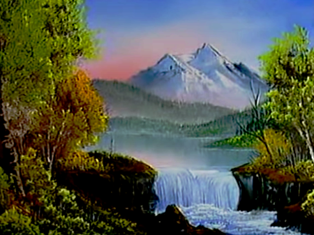Mountain waterfall the joy of painting s2e12 mountain waterfall the joy of painting s2e12 altavistaventures Images