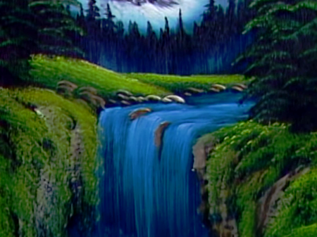 Valley Waterfall
