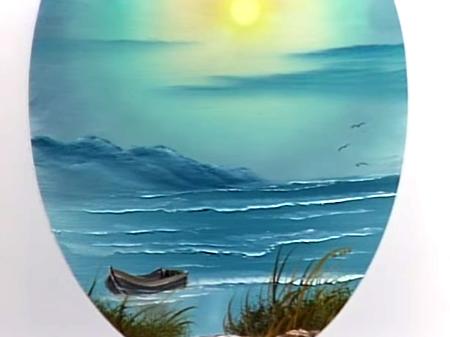Rowboat On The Beach Joy Of