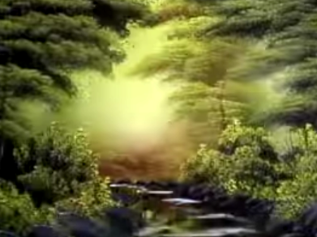 Tranquil Wooded Stream - The Joy of Painting S26E9