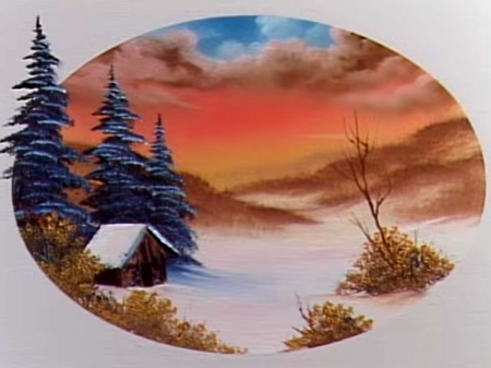Een Warme Winter : A warm winter the joy of painting s e