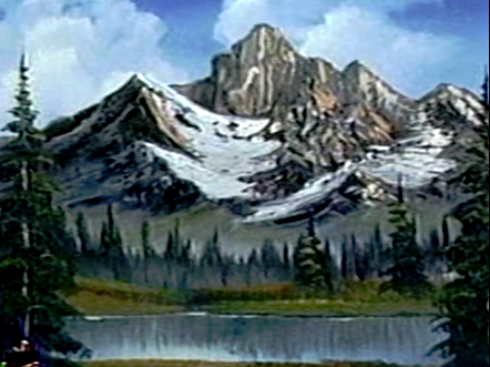 Mighty Mountain Lake