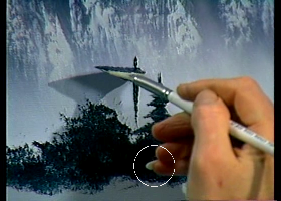 Why Does Bob Ross Have A Coke Nail? – TwoInchBrush