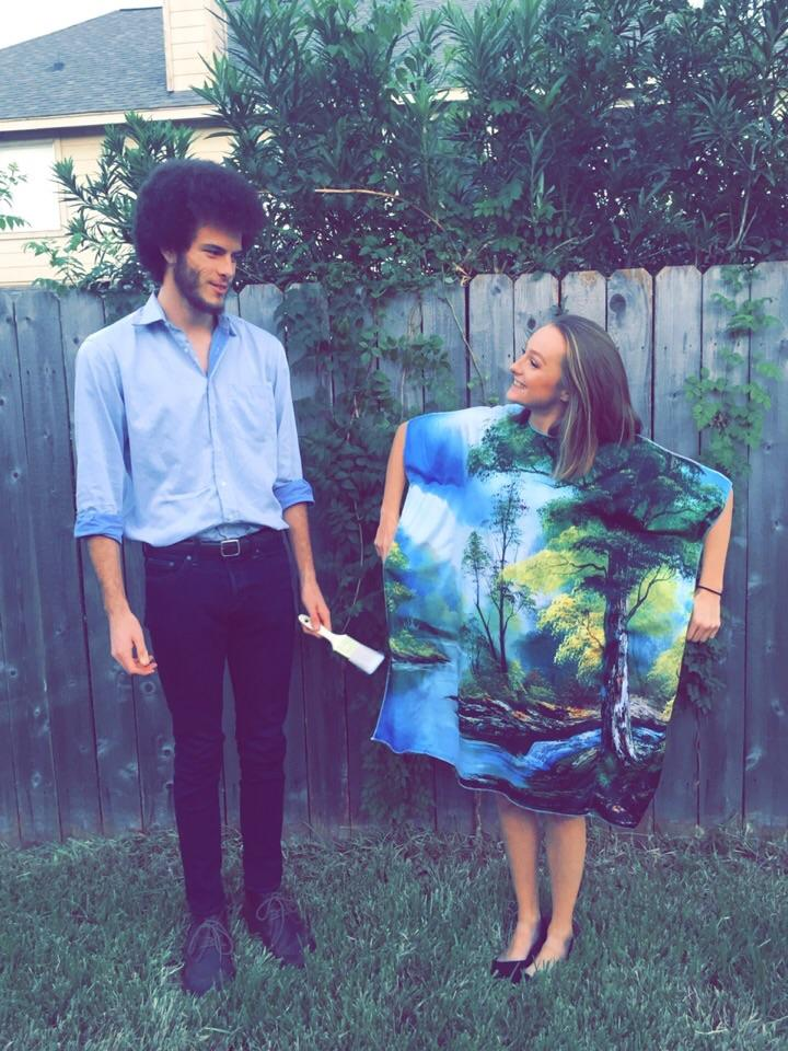 627f945ce2f If you don t want to DIY your Bob Ross Halloween costume for you and your  partner we have great news for you! Because of the big demand you can now  buy ...